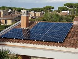 Impianto Sunpower moduli monocristallini X21 345Wp
