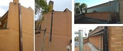 Mascheratura tubi solari impianto solare termico Axa - Roma